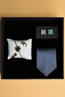 Rakhi Gift Combo With Cufflinks & Tie by SONNET