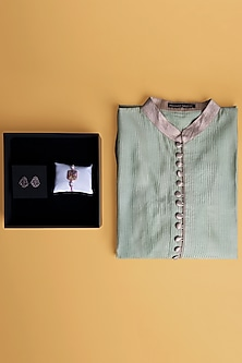Rakhi Gift Hamper Including Cufflinks & Kurta by SONNET