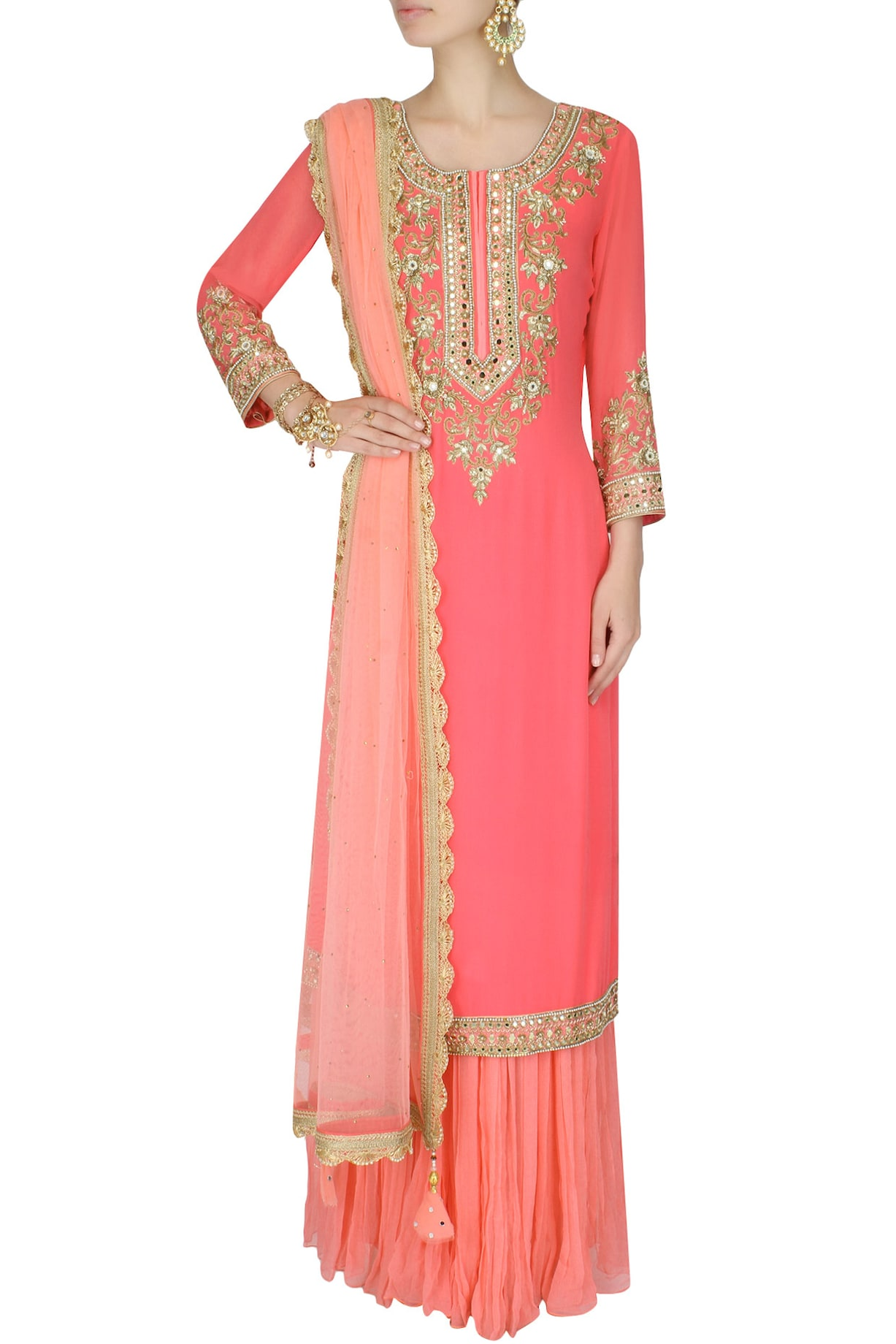Sanna Mehan Sharara Sets