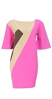 3/4th sleeve tunic style dress