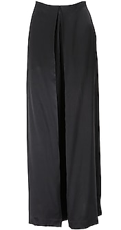 Box pleated trousers