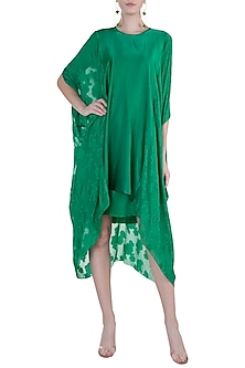 Jade Green Printed Tunic by Stephany