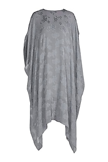 Grey Floral Printed Tunic With Inner by Stephany