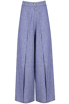 Indigo Wrap Pants
