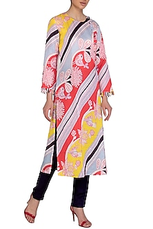 Multi Colored Digital Printed Kurta by Swati Vijaivargie