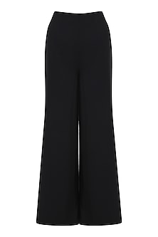 Black Palazzo Pants by Swatee Singh