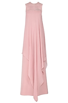Blush Pink Asymmetrical Jumpsuit