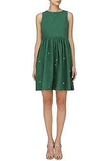 Green Tass Dress