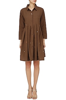 Brown Eri Dress