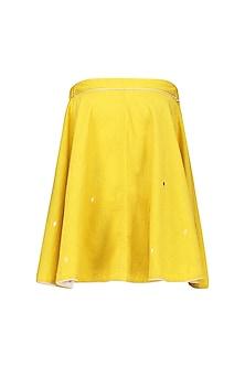 Yellow Furea Top