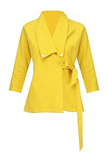 Yellow Rappu Top