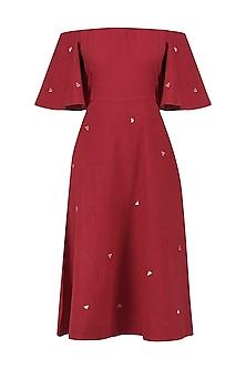 Red Ofu Dress