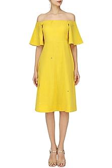 Yellow Ofu Dress