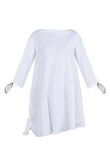 Off White Asymmetric Shirt