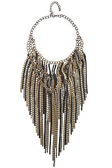 Multi-Strand Statement Neckpiece by TI Couture By Tania M Kathuria