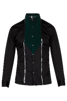 Black Velvet Shirt by The Natty Garb