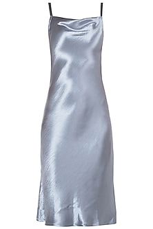 Electric Grey Camisole Knee Length Dress by Tara and I