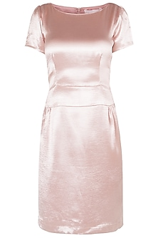 Rose Gold Shift Dress