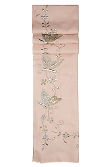 Nude butterfly scarf by The Scarf Story