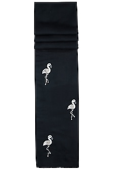 Black flamingo scarf by The Scarf Story
