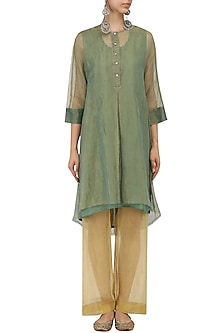 Zari Kota Silk Culottes by Urvashi Kaur