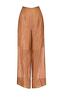 Rust Stripe Tissue Pants