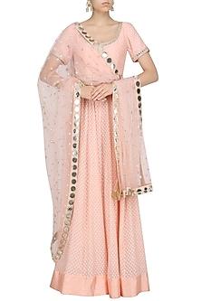 Rose Pink Anarkali