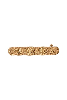 Gold Finish Nakshi Openable Bangles by VASTRAA Jewellery
