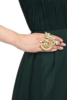 Gold Plated Doris Ring