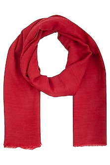 Red and pink reversible stole by Vilasa