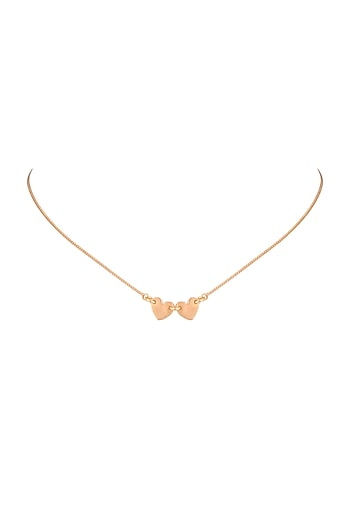 22Kt Gold Plated Choker Necklace by Zariin