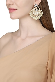 Gold Plated Chand Balis by Zevar by Geeta