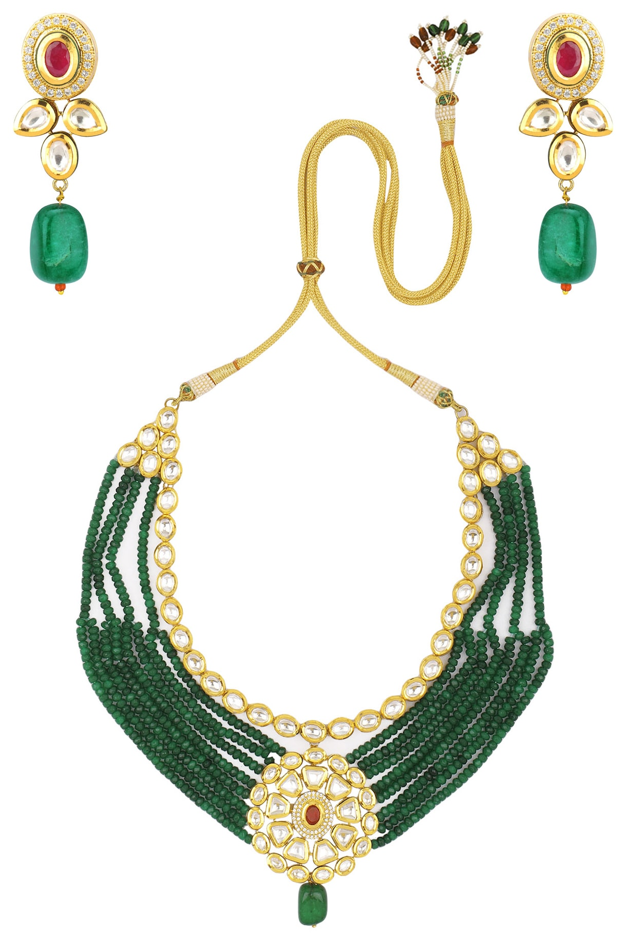 Zevar by Geeta Necklaces