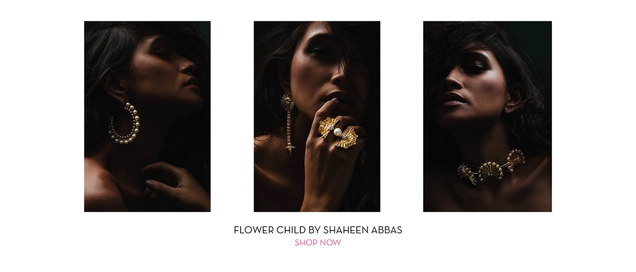 FLOWER CHILD BY SHAHEEN ABBAS