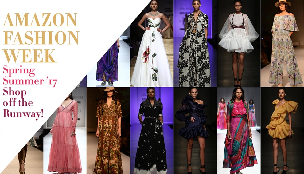 Amazon India Fashion Week Spring Summer 2017