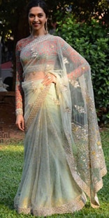 Deepika Padukone in Anju Modi